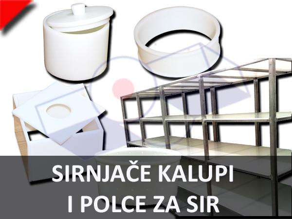 Sirnjače Kalupi i Police Za Sir